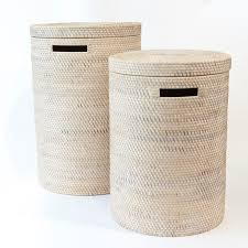 Made in Bali Indonesia LAUNDRY BIN  SMALL 13500 Height 50cm Diameter  37cm LAUNDRY