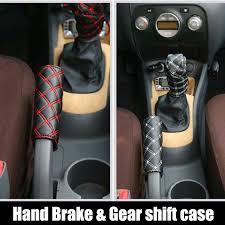 Hand Brake Case & Gear <b>shift</b> case <b>car</b> interior accessory <b>2PCS</b>/set ...