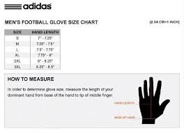 Ua Football Glove Size Chart Adidas Powerweb Receiver Grey Black Silicone Palm Football Gloves New Mens S 3xl