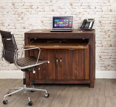 baumhaus hidden home office 2. baumhaus mayan walnut hidden computer desk home office 2 o