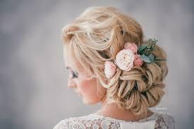 Svatební účesy S živými Květy
