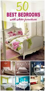 Bedroom ideas for white furniture Pinterest Bedrooms With White Furniture Homebnc 50 Best Bedrooms With White Furniture For 2019