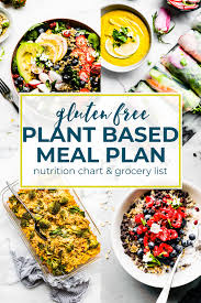 Plant Based Diet Chart Plant Based Foods Meal Plan And Grocery Shopping List