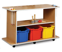 Musical Furniture Musical Instruments Trolley Classroom Storage For Musical