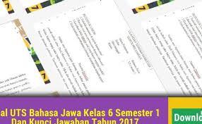 Uji kompetensi wulangan 6 bahasa jawa kelas 8 semester 2 hal 118 kunci jawaban buku paket bahasa jawa kelas 9 kurikulum 2013 halaman 4. Basa Jawa Kelas 6 Tantri Basa Wulangan 1 Pasinaon 2 Basajawa Kelas6 Cute766