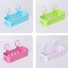 plastic bathroom shelf kitchen storage box organizer basket