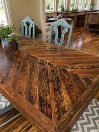 amazing custom dining room sets best 25 chevron table ideas on for custom wood table tops popular