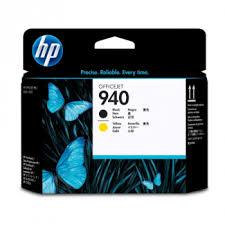 Черная и желтая <b>печатающая головка HP</b> 940 Officejet (<b>C4900A</b>)
