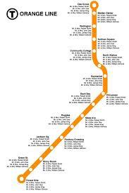 Seating Chart Boston Orange Line Wedding Seating Chart In