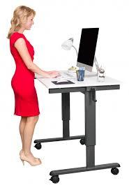 standing desk 48 crank adjule height standing