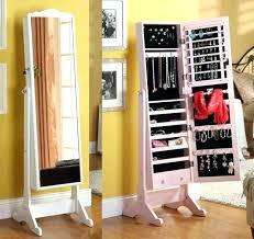 extraordinary furniture floor standing jewelry mirror on jewelry armoire with mirror standing jewelry floor boxes beautiful