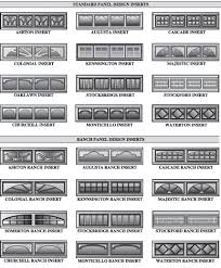 garage door window insertsDecorative garage doors windows inserts beveled  faux leaded