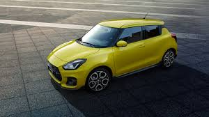 2018 Suzuki Swift Sport Yellow Side ...
