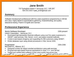 Summary Resume Examples Best Sample Professional Summary Resume Examples For Throughout
