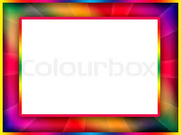 Colorful Frame Stock Photo Colourbox