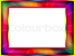 Colorful Frame Stock Photo Colourbox