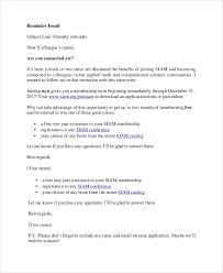 Email Reminder 7 Sample Reminder Emails Pdf