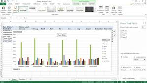 How To Insert Chart Title How To Customize Your Excel Pivot Chart And Axis Titles