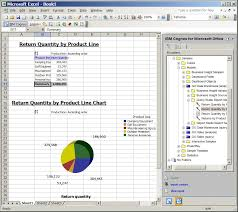 Cognos Line Chart Example Work With Ibm Cognos Content In Microsoft Excel