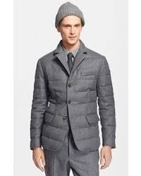 Grey Quilted Blazers for Men | Men's Fashion & Grey Quilted Blazer Adamdwight.com