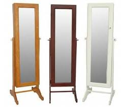 safekeeper dressing mirror jewelry cabinet