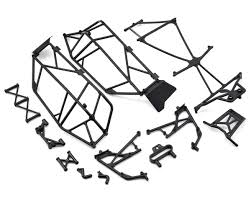 Roll cage set for ten scbe by losi los231014 cars trucks hobbytown