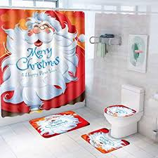 Patimate Christmas Bathroom Sets Decorations ... - Amazon.com