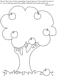 Adam Eve Coloring Pages Coloring Home