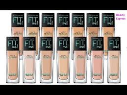 How To Choose Maybelline Fit Me Foundation Shade Pick Your Perfect Shade Of Foundation