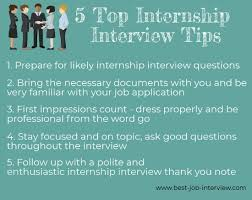 Internship Interview Questions And Answers Guide