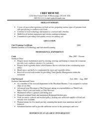 head chef resume samples rimouskois job resumes