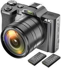 4K Digitalkamera Videokamera Camcorder Ultra HD 48MP: Amazon.de: Kamera