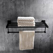 bronze towel bar. Solid Oil Rubbed Bronze Towel Rack Shelf Black Bathroom Bar