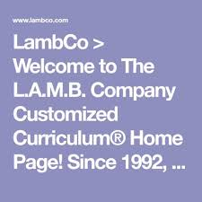Lambco Welcome To The L A M B Company Customized