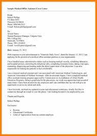 15 Cover Letter For Medical Office Assistant Hr Cover Letter