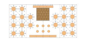 Round Table Seating Capacity 40 X 80 Pole Tent Wards Rental Wards Rental