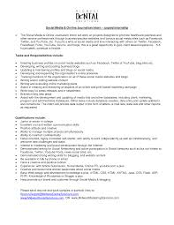 Sample Cover Letter For Social Media Internship Adriangatton Com