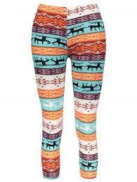 <b>Stylish Elastic Waist</b> Slimming <b>Christmas</b> Print Women's Pants