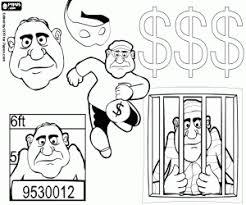 Kleurplaten Misdaad En Rechtspleging Kleurplaat