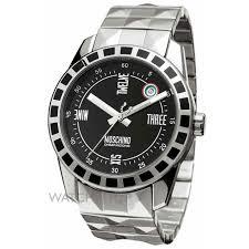 """men s moschino joe black watch mw0023 watch shop comâ""""¢ mens moschino joe black watch mw0023"""