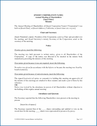 Corporate Meeting Minutes Form Free Printable Corporate Meeting Minutes Template