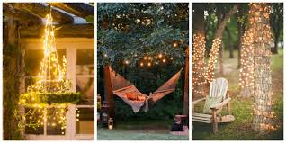Backyard String Lights Lighting Ideas With How To Use On Outdoor