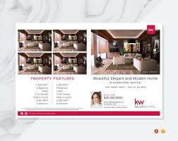 Flyer Template For Pages Keller Williams Real Estate Flyer Template Real Estate