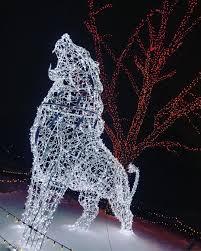 Wonderland Of Lights Lansing Mi Heres What Happens During Winter At Michigan Zoos Michigan
