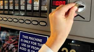 Vending Machines Northern Ireland Magnificent Wales Cigarette Vending Machine Sale Ban Begins BBC News
