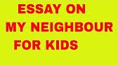 essay on my neighbour in english speech on my neighbour 1 37
