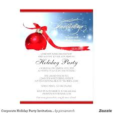 Office Holiday Party Invitation Template Corporate And Holiday Party