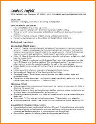Sample Resume Accounting Standard Resume Template Microsoft Word