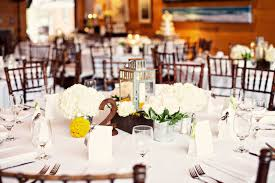 ... Good Looking Accessories For Table Decoration With Yellow Flower  Centerpiece : Epic Picture Of White Wedding ...