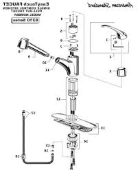 Moen Kitchen Faucet Diagram Disassembling A Moen Kitchen Faucet Repair Kits 7400 Parts And